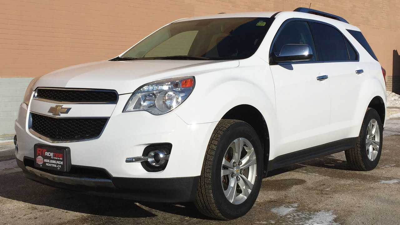 2010 Chevrolet Equinox LT   Leather, Sunroof, Alloy Wheels | For Sale In  Winnipeg, MB