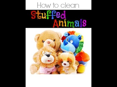 How to clean Plush / Stuffed animals for Resale.