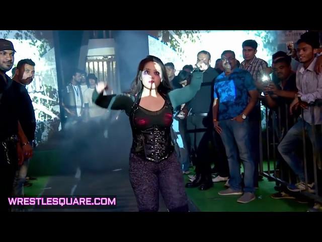 Mefisto V/S Tyra Russamee V/S Ramona  - Wrestle Square Women's Title Match