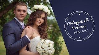 Свадебный клип Андрея и Алины 01.07.17