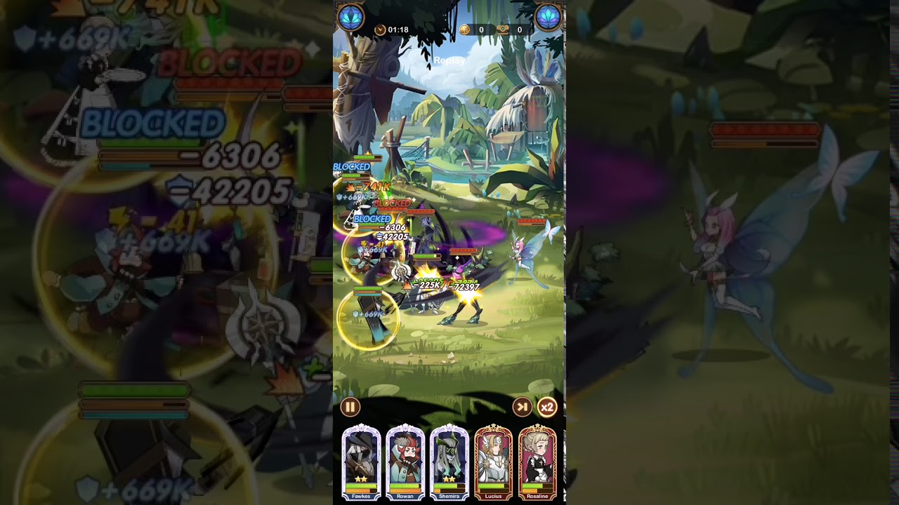 Afk arena 27-16 - YouTube