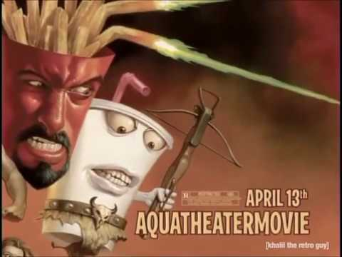 Adult Swim Commercials (April 1, 2007)