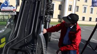 Подробный обзор гусеничной техники: Экскаватор HIDROMEK 220 LC 2
