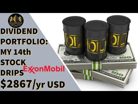 Dividend Portfolio: My 14th Stock ExxonMobil DRIPs $2867/Yr
