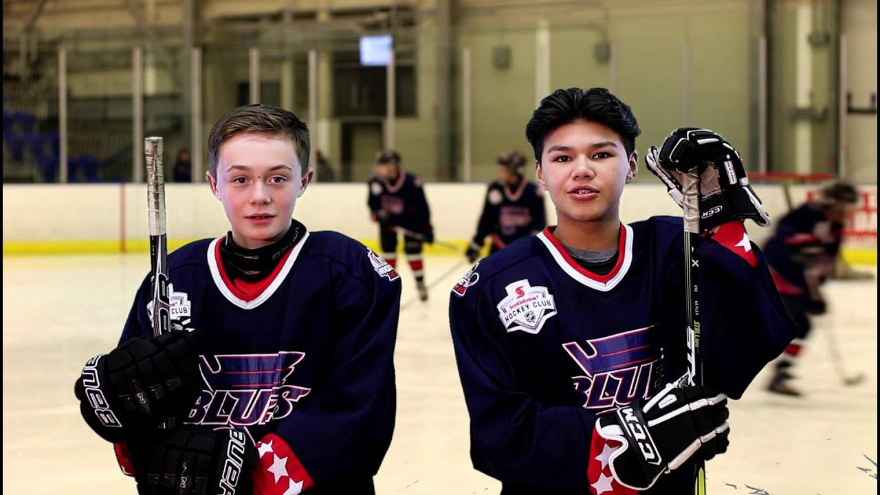 Regina Blues Hockey On The Hill Youtube