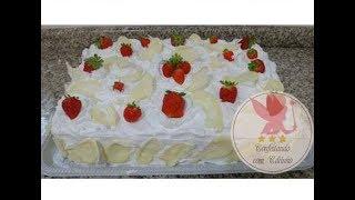 ensinando a decorar bolo