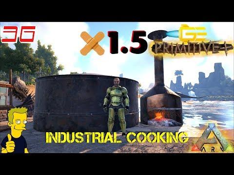 ARK PRIMITIVE PLUS PATCH 1.5 INDUSTRIAL COOKING S2 E36