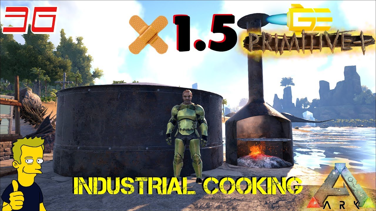 Ark primitive plus patch 15 industrial cooking s2 e36 youtube ark primitive plus patch 15 industrial cooking s2 e36 malvernweather Image collections