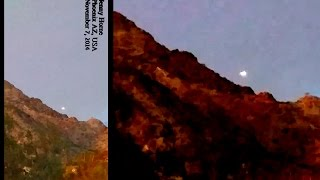 HOLY SNAP! Flying Saucer Lands In Arizona!! Breaking News UFO Sightings 2014