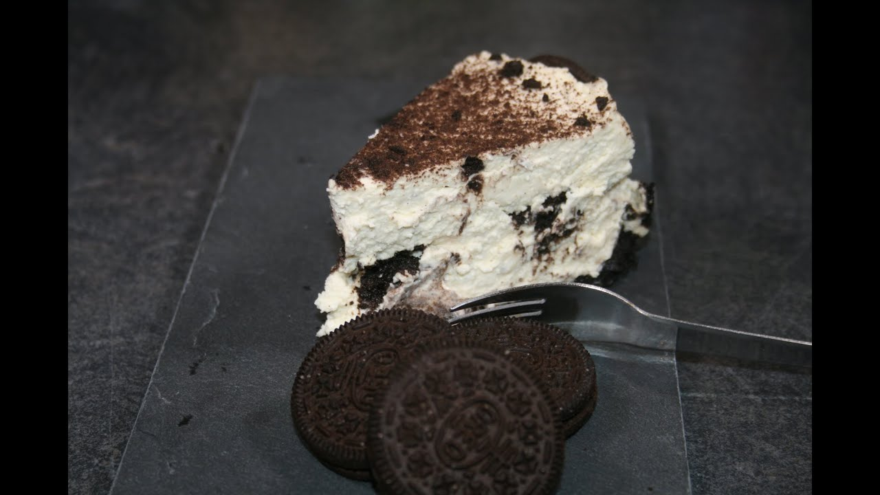 Gateau oreo fromage sans cuisson