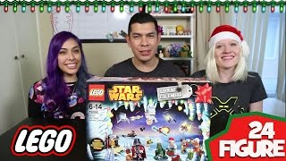 Lego Star Wars Advent Calendar! Full 24 Figure Unboxing!
