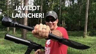 Launching the Olight Javelot Pro into a TREE!