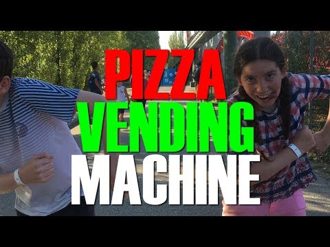 Italian Pizza from a Pizza Vending Machine - A novel way to get take away pizza
