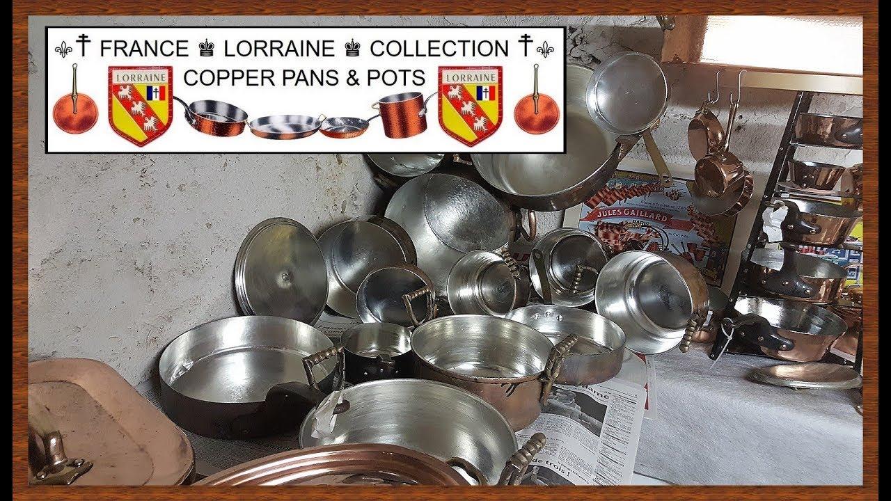 ecological retinning copper pans pots by tj france youtube. Black Bedroom Furniture Sets. Home Design Ideas