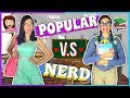 ¡POPULAR VS NERD! EN LA ESCUELA ♡ Lulu99