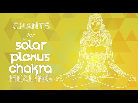 Soothing SOLAR PLEXUS CHAKRA CHANTS - Seed Mantra RAM Chanti