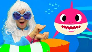 아기 상어 춤 노래 Baby Shark dance song + More Nursery Rhymes and kids Songs from Alex and Nastya