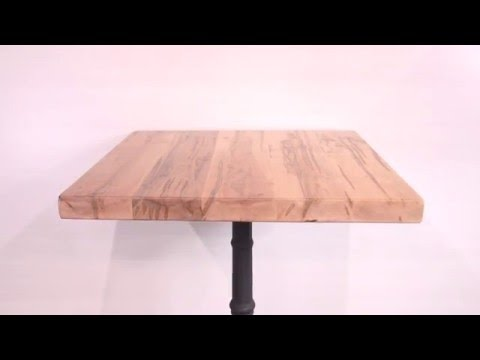 Solid Wood Rustic Maple Restaurant Table Tops