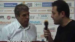 04-12-2011: Intervista a Daniele Ricci nel post NewMater-Segrate