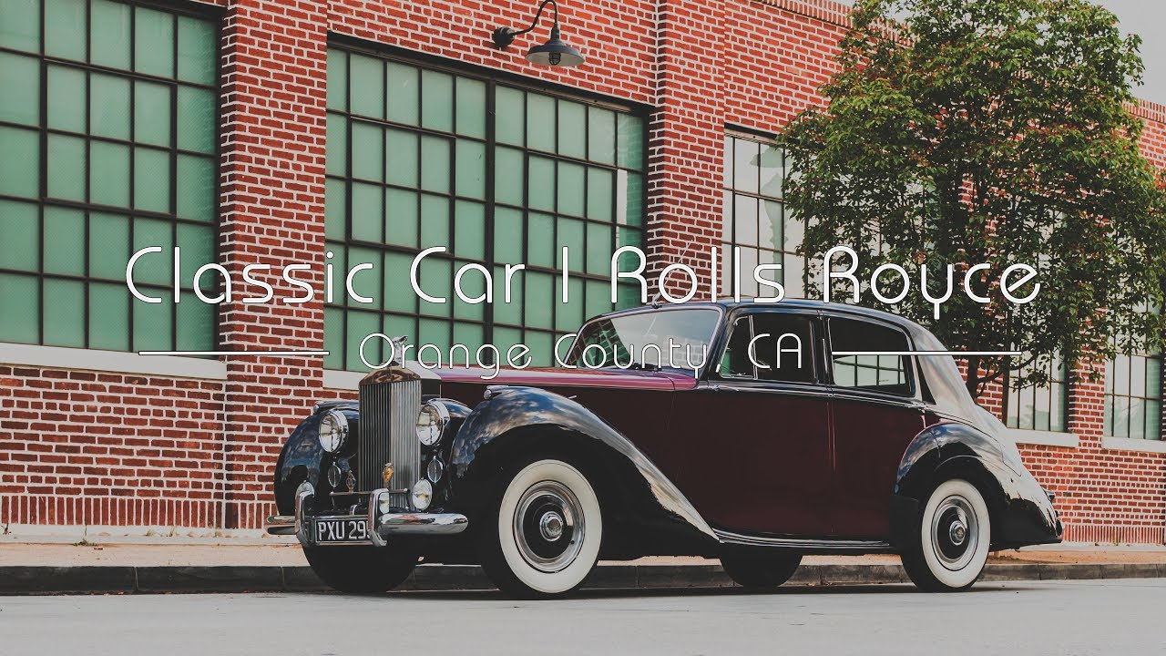 Vintage Rolls Royce 1954 Silver Dawn Product Videography | Classic Car Film | Orange, CA