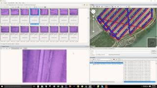 applying gps coordinates to survey images from an uav flight log