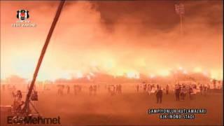 UNBELIEVABLE PYROSHOW BESIKTAS FANS WORLD RECORD ! HD