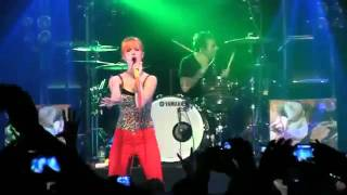 paramore renegade live for the 1st time ever fbr 15th flv