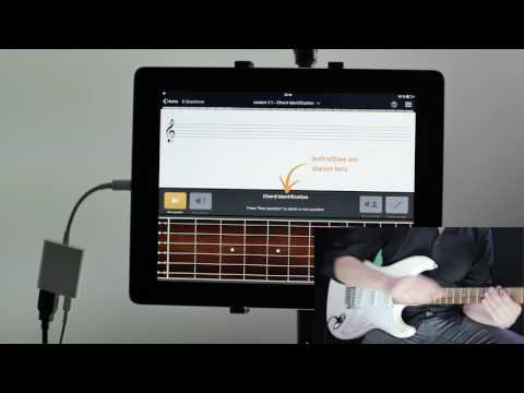 EarMaster - Music Theory & Ear Training App - Tutorial #3 - Guitar or Bass input
