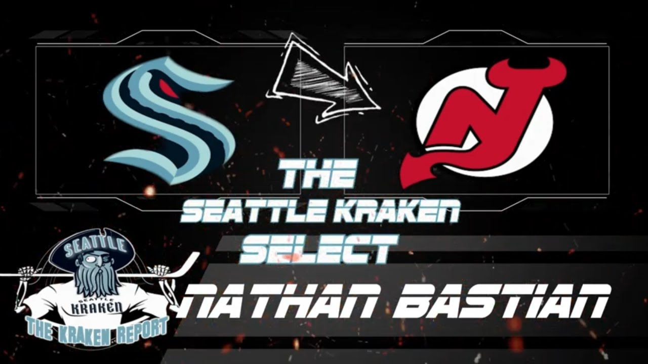 Seattle Kraken Selected Nathan Bastian from New Jersey Devils in ...