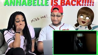 Annabelle: Creation Trailer #1 REACTION!!!!