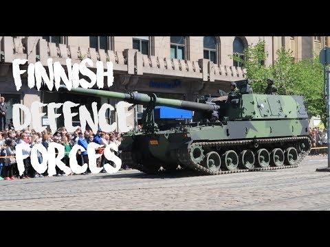 Puolustusvoimain paraati 2017 Helsinki Finland Finnish Defence Forces parade