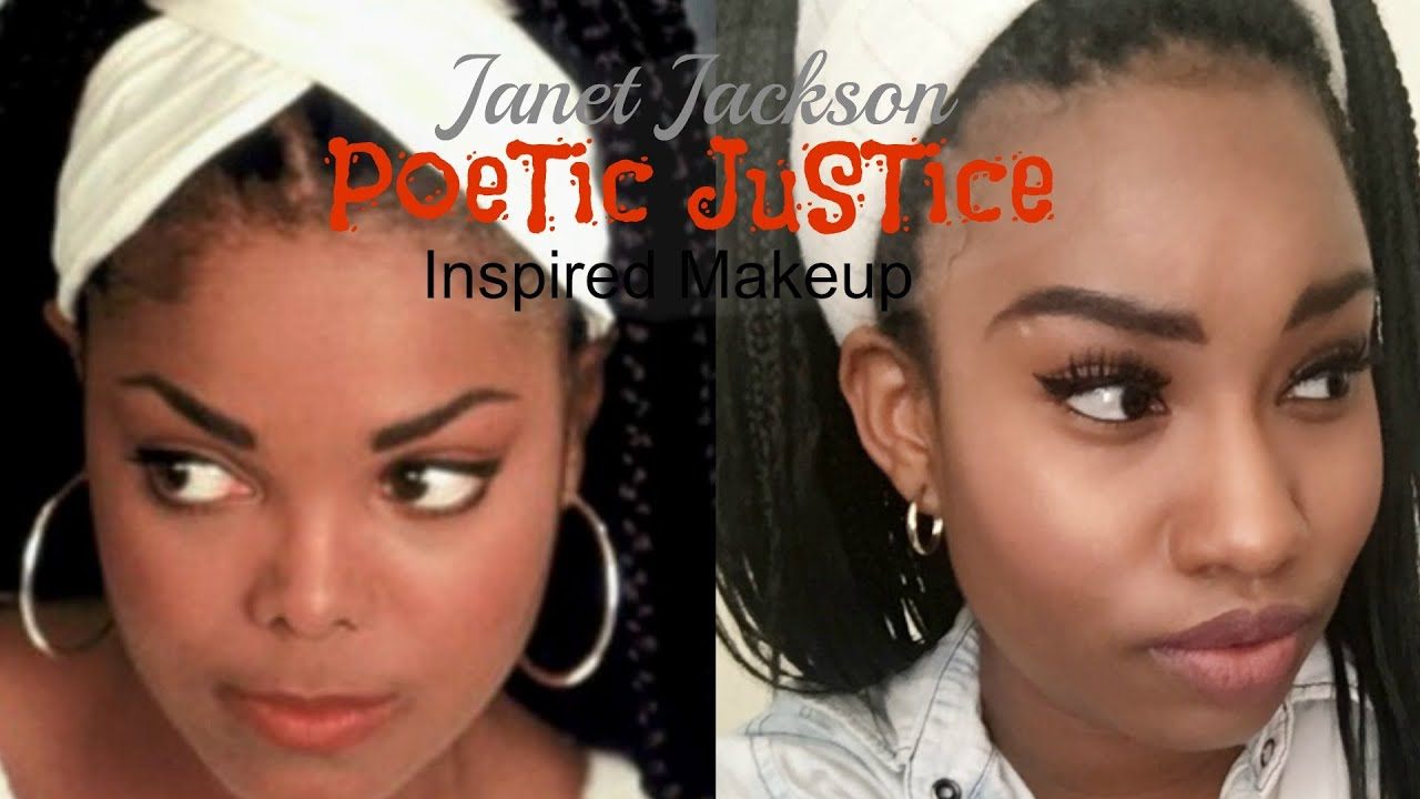 Women Of The 90s Janet Jackson Poetic Justice Inspired Makeup  sc 1 st  YouTube & Women Of The 90s: Janet Jackson Poetic Justice Inspired Makeup - YouTube