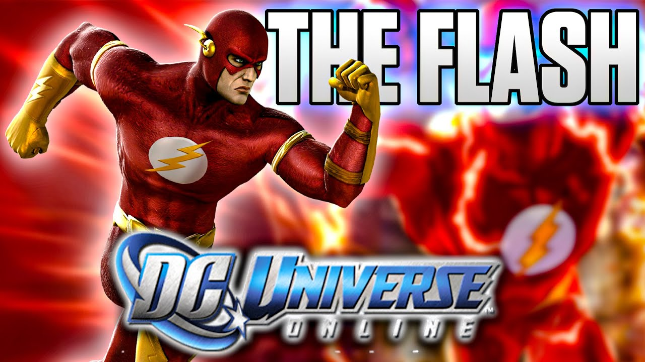Dc Universe Online The Flash Youtube