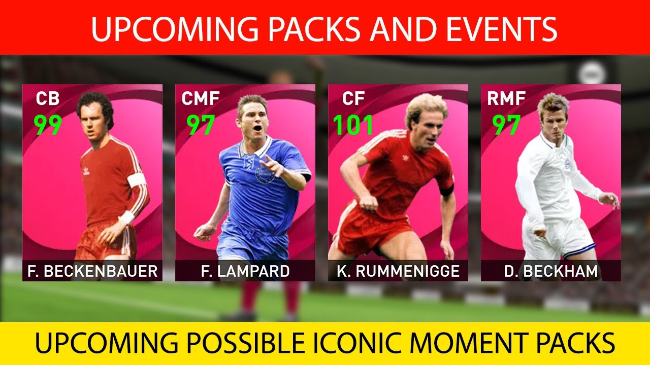 UPCOMING CONFIRMED AND POSSIBLE ICONIC MOMENT PACKS | PES 2021 MOBILE