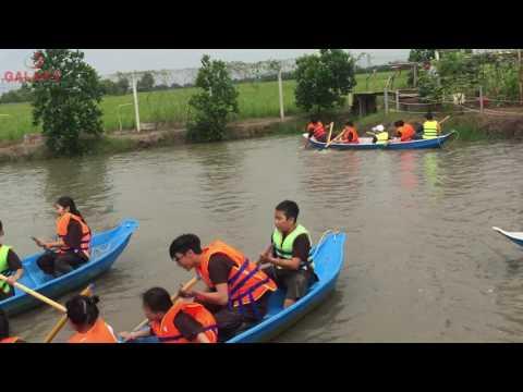 Anh Ngữ Galaxy Đi Dã Ngoại Green Park Củ Chi Hè 2017