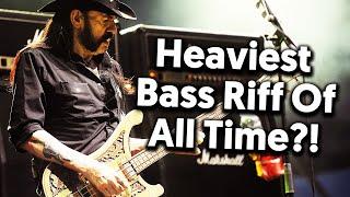Heaviest Bass Riff Of All Time?! (Tutorial + Tab)