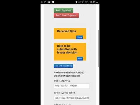 DirectVet Moneris Interac Online Payment