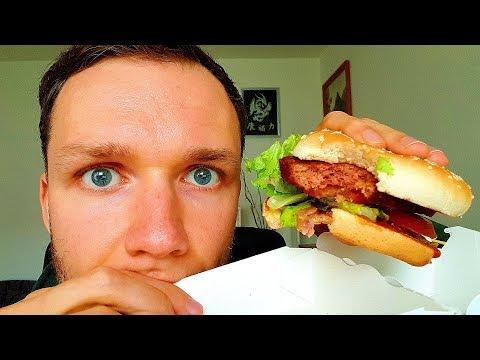 McDonald's Big Vegan TS - GESCHMACKSTEST ALS VEGANER