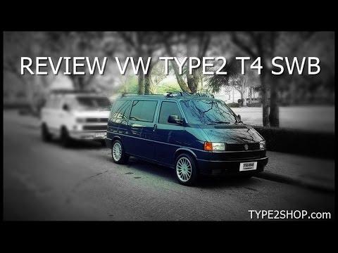 รีวิว โฟล์คตู้คาราเวลช่วงสั้น  review vw type2 t4 swb