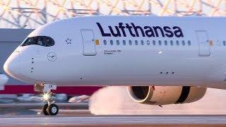 Inaugural Flight! Lufthansa Airbus A350-900 Arrival at Montréal-Trudeau Airport