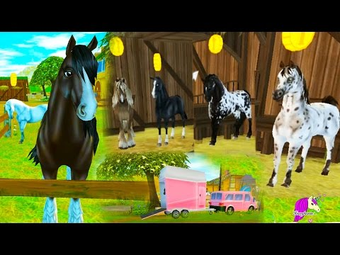 Star Stable Lifetime Rider & Buying A New Horse - Horses Game Let's Play with Honeyheartsc Video