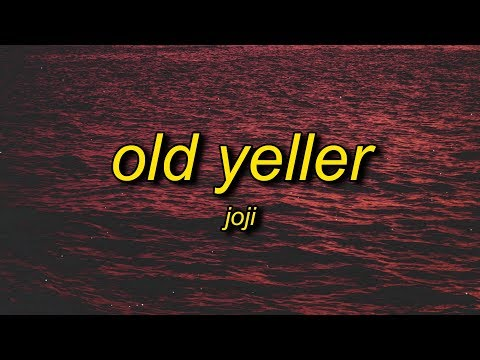 Joji - Old Yeller (Lyrics)   Take Me Out To The Back Of The Shed Shoot Me In The Back Of The Head