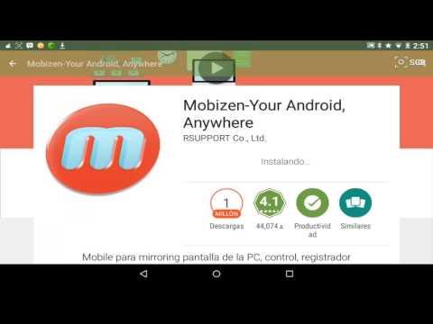 Como usar y descargar mobizen thumbnail