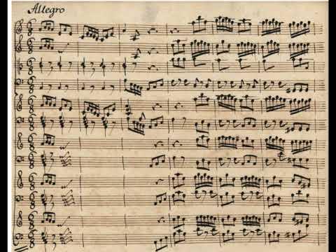 Vivaldi_Bach Allegro (III) from Concerto BWV 1065 - Organ Transcription