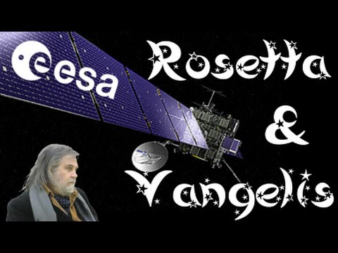"Missione Rosetta & ""Arrival+Philae's journey+Rosetta's waltz"" by Vangelis ESA (new photo gallery)"