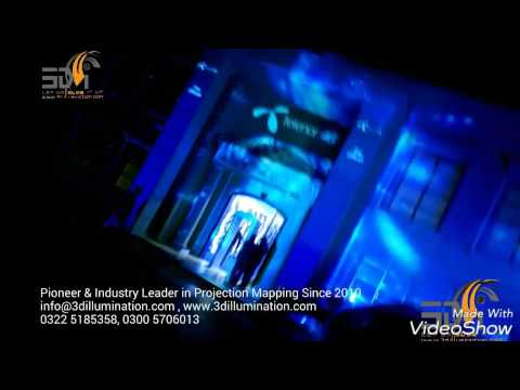 Building Projection Mapping - Light & Sound - Pakistan