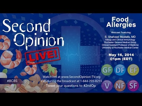 SECOND OPINION LIVE! | Food Allergies | BCBS