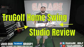 TruGolf Home Swing Studio and Mini Home Sim - Unboxing and Review