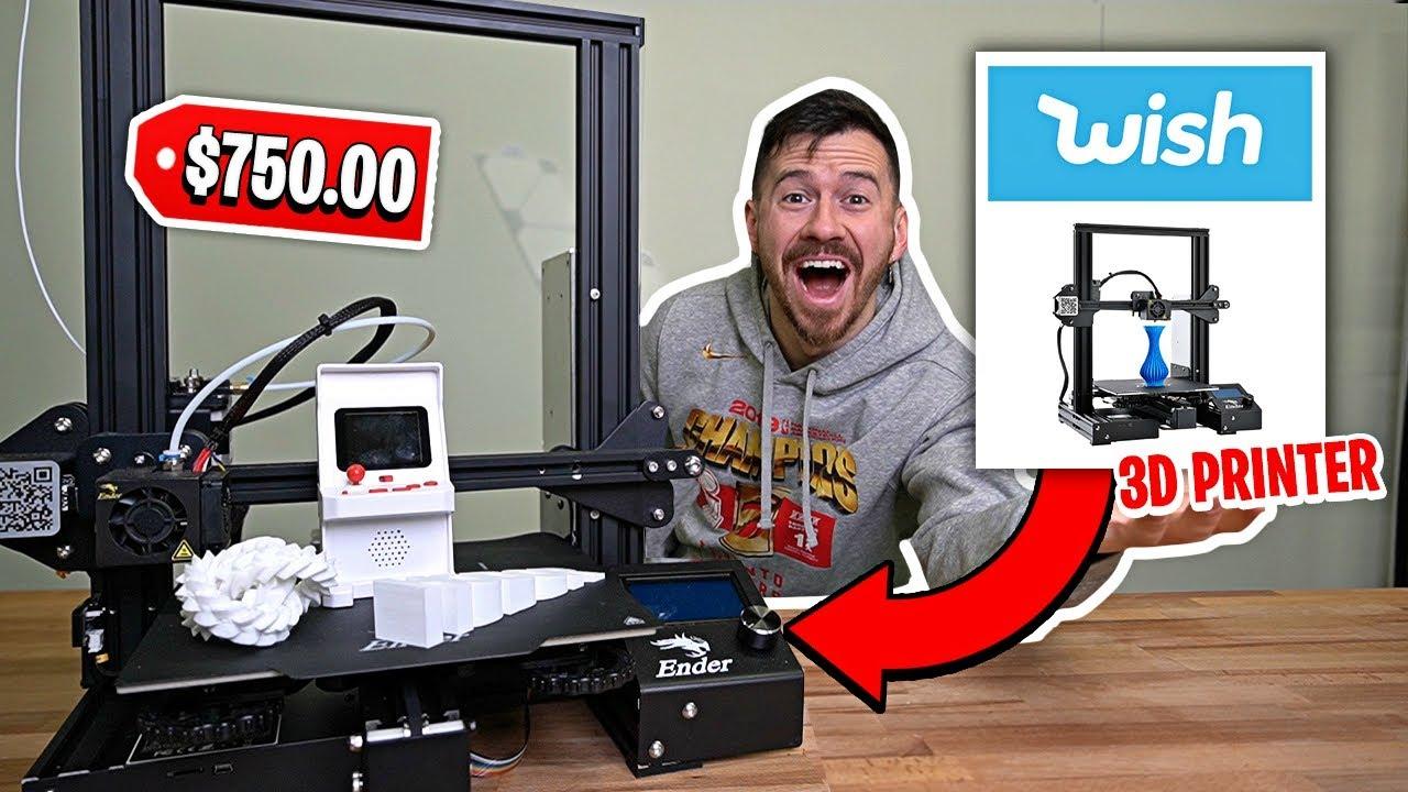 WOW! Amazing 3D Printer - Artillery Sidewinder - YouTube
