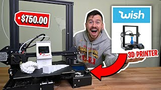 I Bought A 3D Printer from Wish...